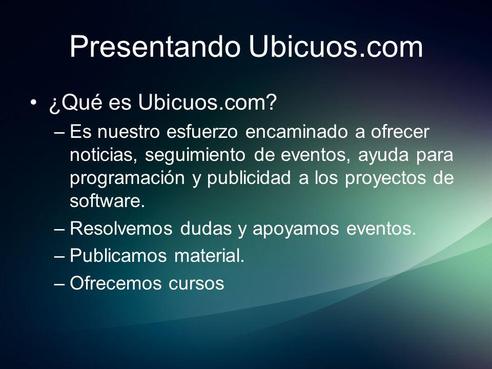 Presentando Ubicuos.com