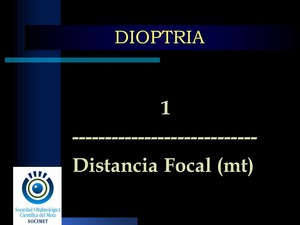 ---------------------------- Distancia Focal (mt)