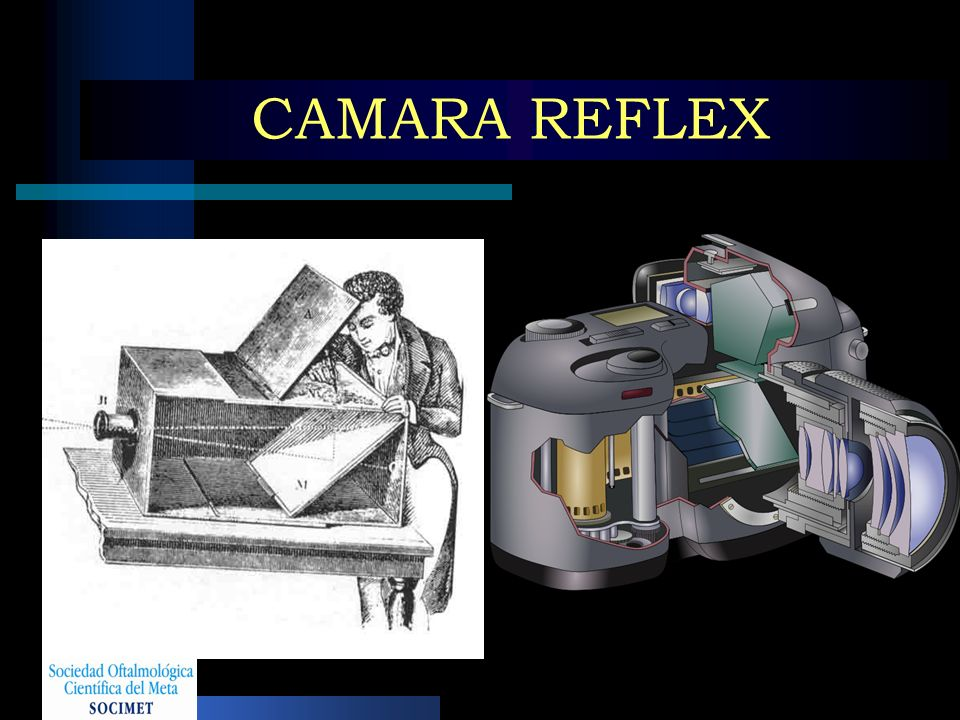 CAMARA REFLEX