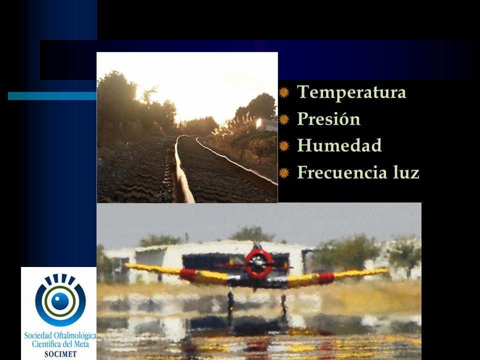 Temperatura Presión Humedad Frecuencia luz