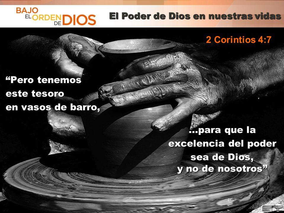 El Poder de Dios en nuestras vidas