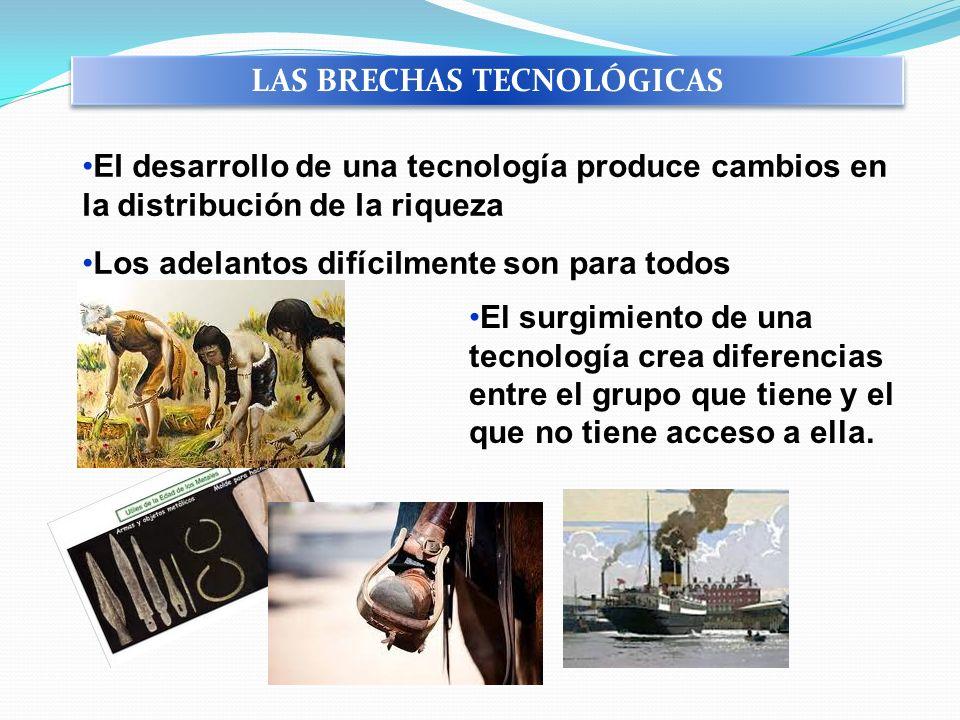 LAS BRECHAS TECNOLÓGICAS