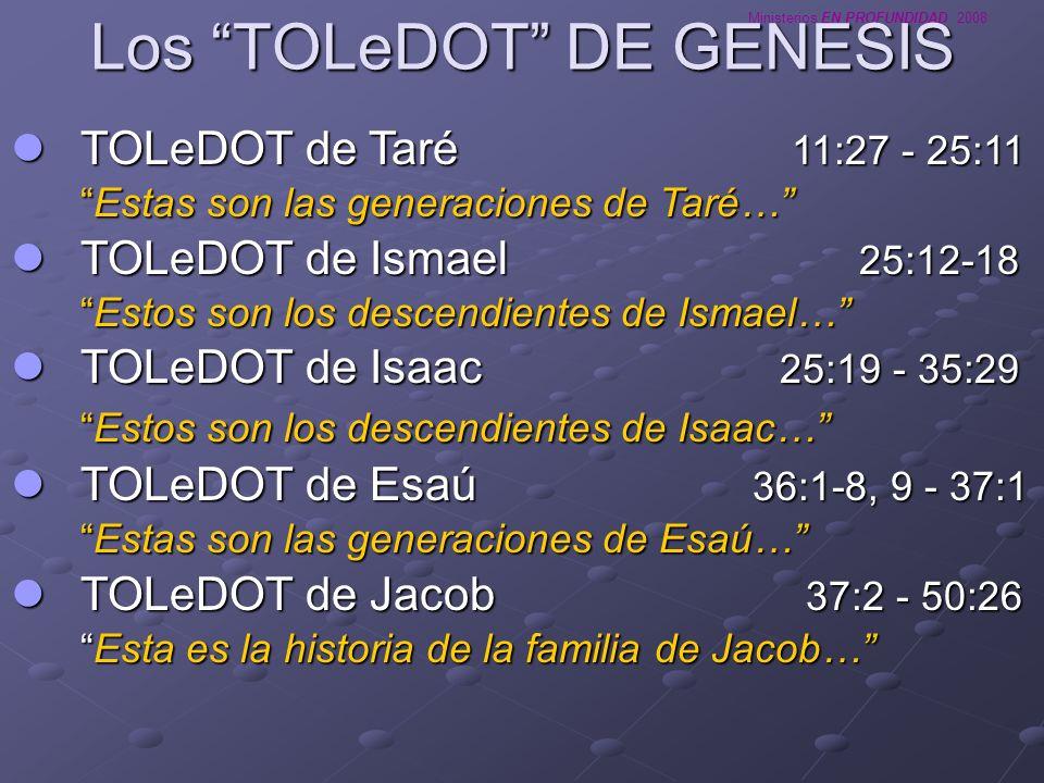 Los TOLeDOT DE GENESIS