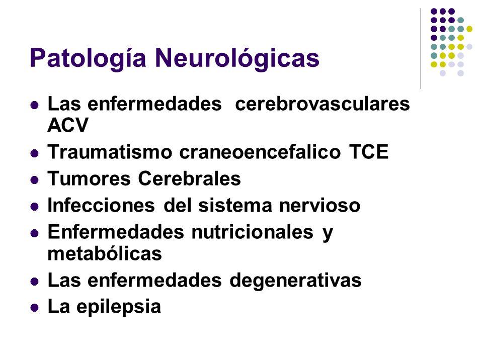 Patología Neurológicas