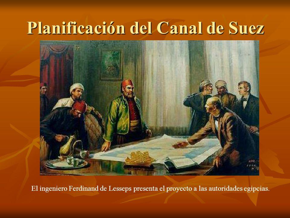 Planificación del Canal de Suez