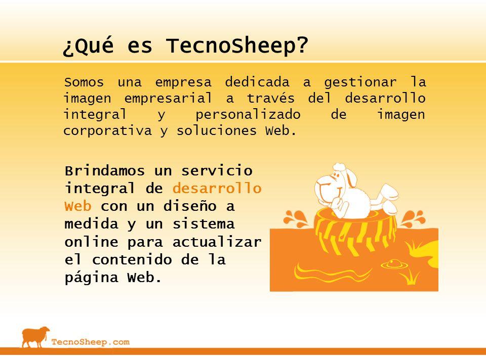 ¿Qué es TecnoSheep