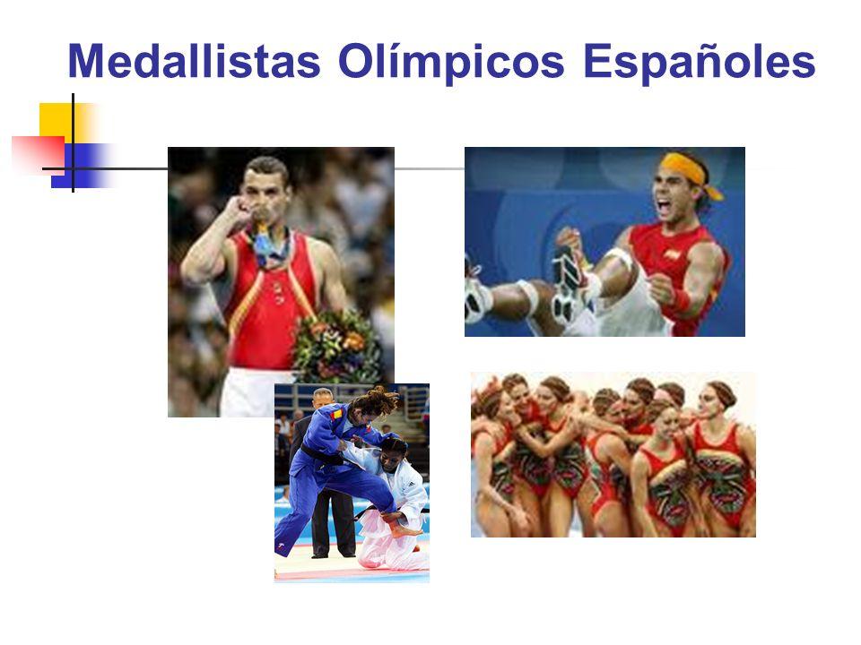 Medallistas Olímpicos Españoles