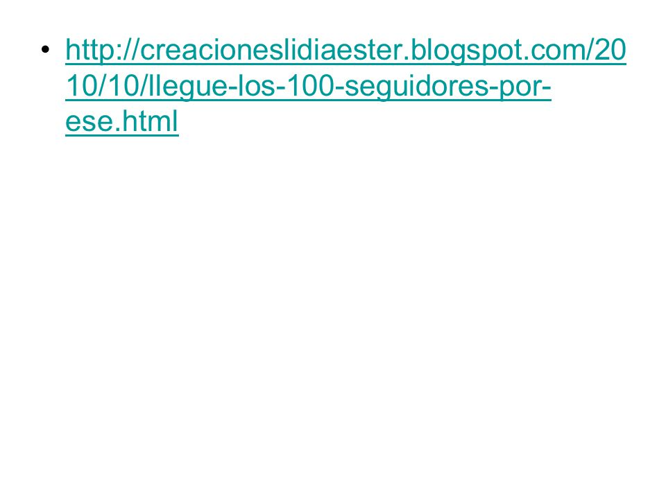 http://creacioneslidiaester. blogspot