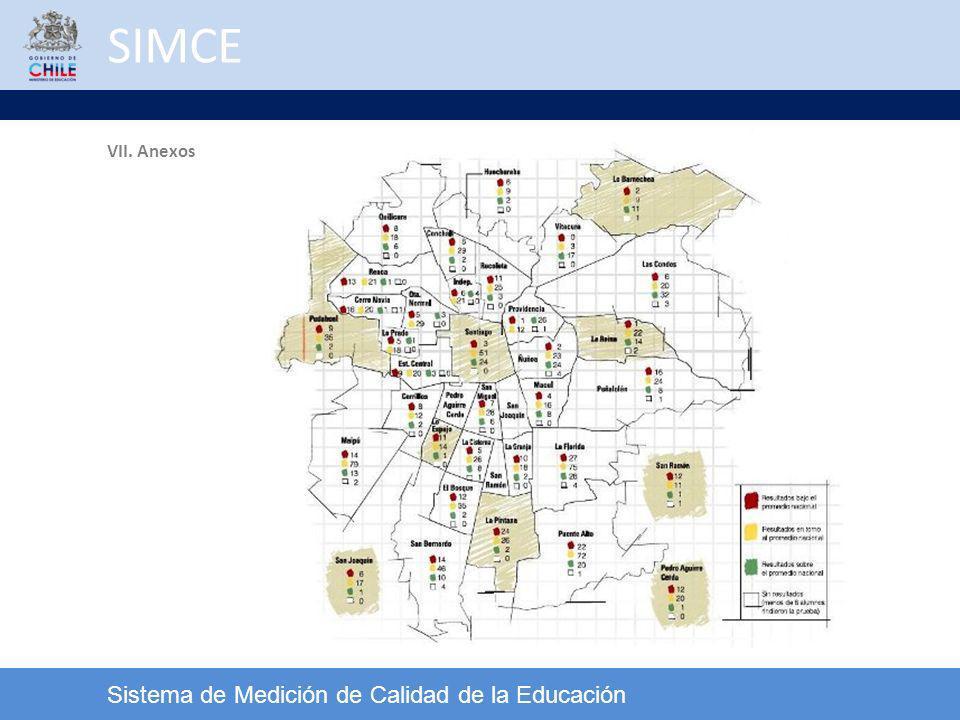 SIMCE VII. Anexos Sistema de Medición de Calidad de la Educación 34