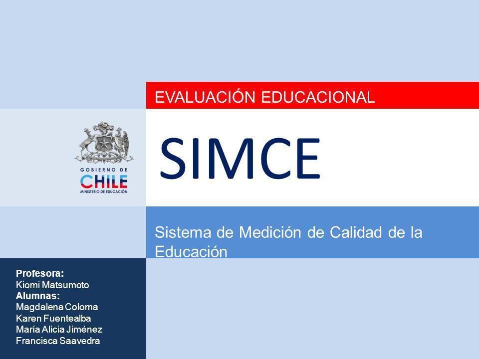 SIMCE EVALUACIÓN EDUCACIONAL