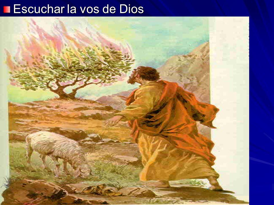 Escuchar la vos de Dios