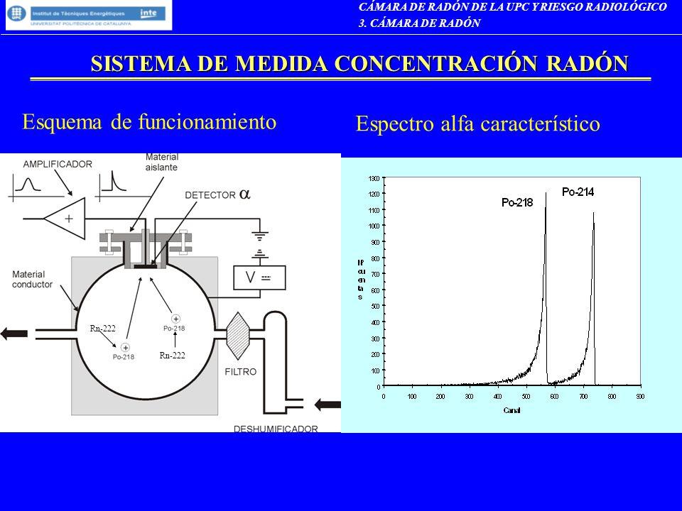 SISTEMA DE MEDIDA CONCENTRACIÓN RADÓN