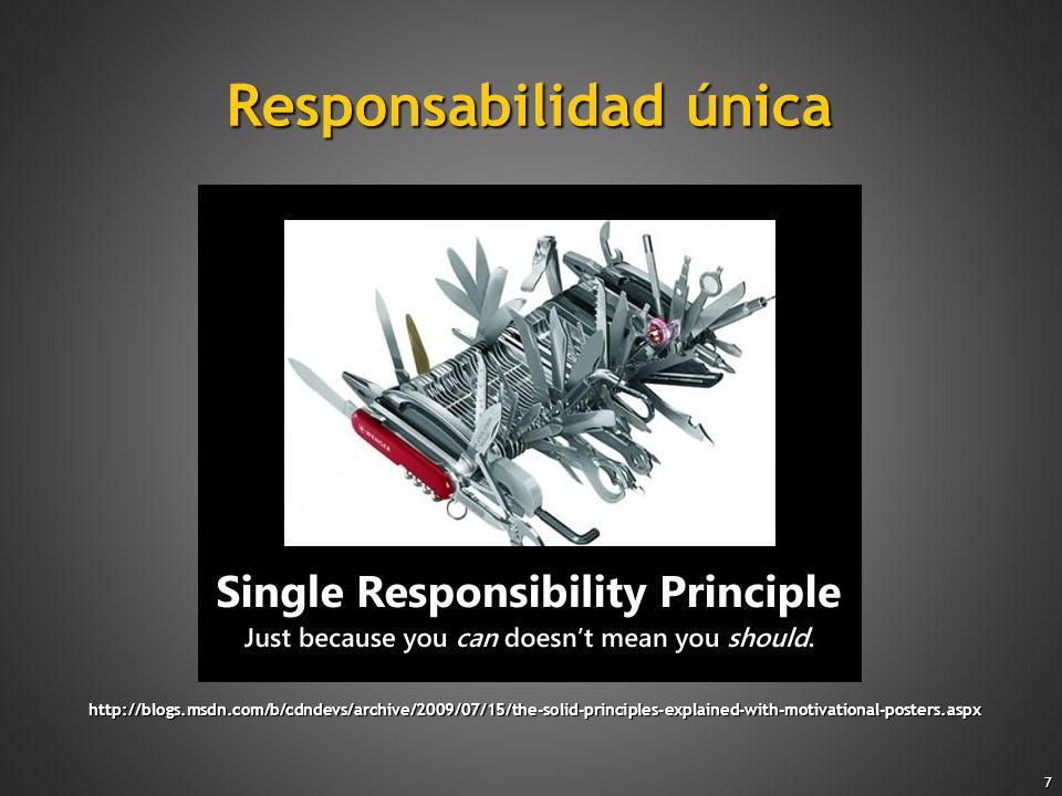 Responsabilidad única