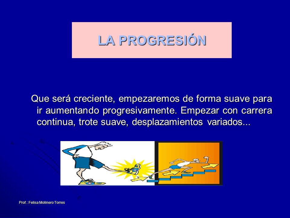 LA PROGRESIÓN