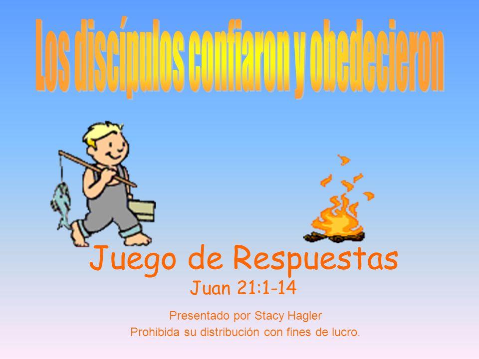 Juego de Respuestas Juan 21:1-14