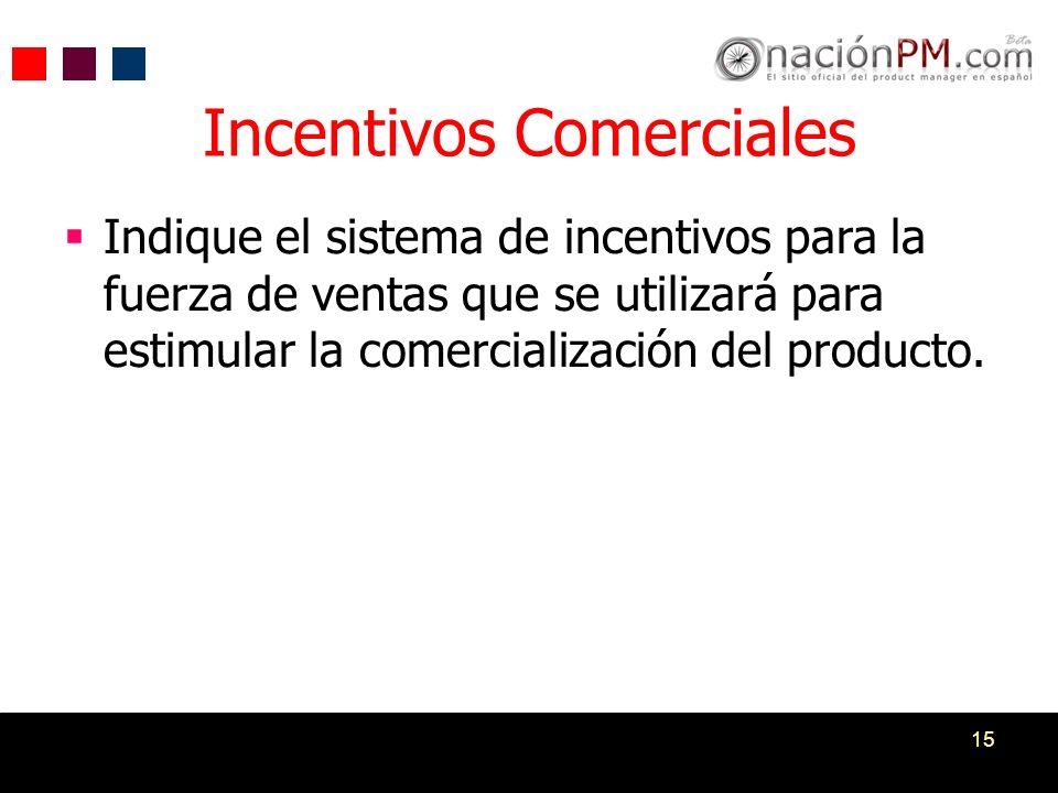 Incentivos Comerciales