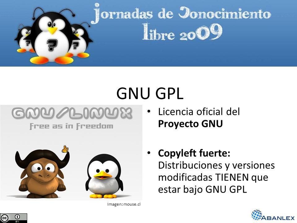GNU GPL Licencia oficial del Proyecto GNU