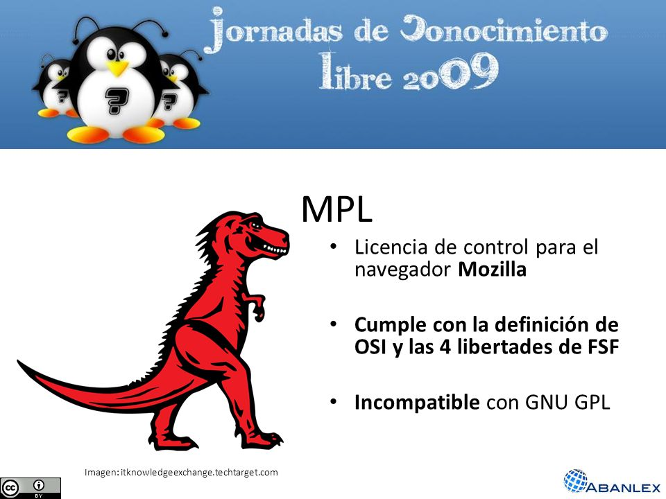 MPL Licencia de control para el navegador Mozilla