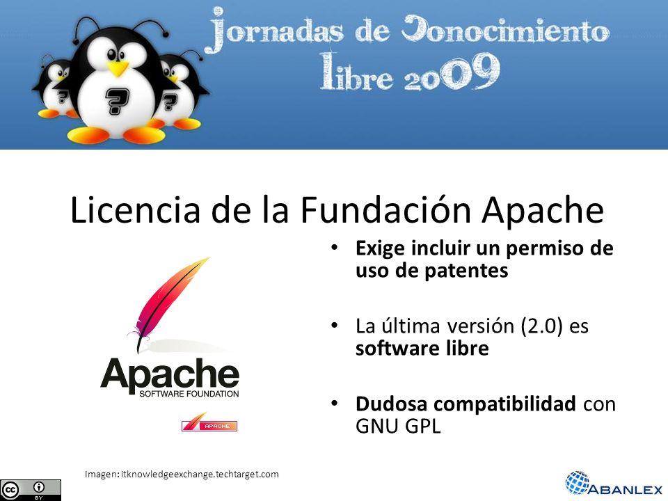 Licencia de la Fundación Apache