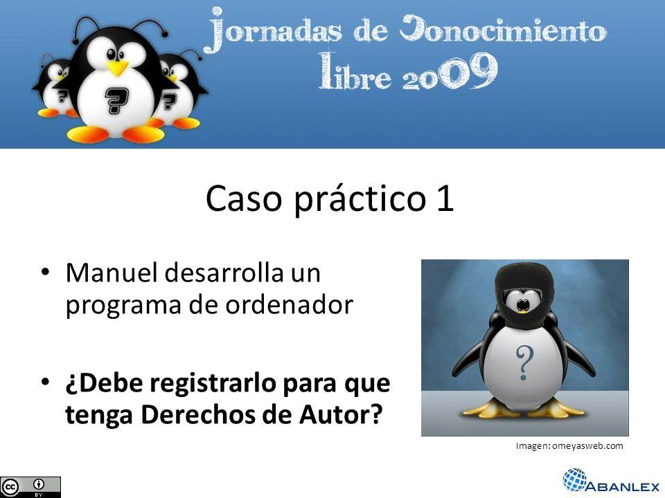 Caso práctico 1 Manuel desarrolla un programa de ordenador