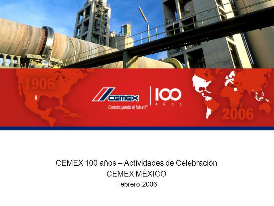 CEMEX 100 años – Actividades de Celebración