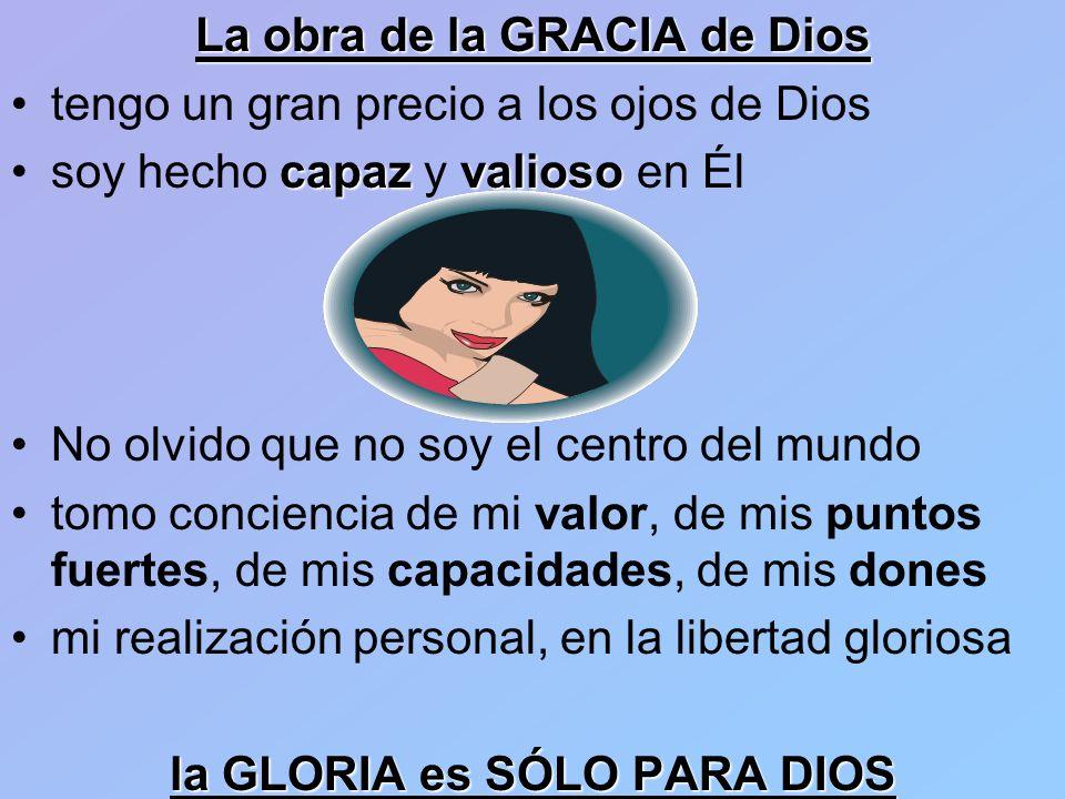la GLORIA es SÓLO PARA DIOS