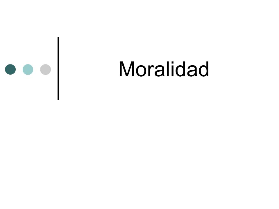 Moralidad