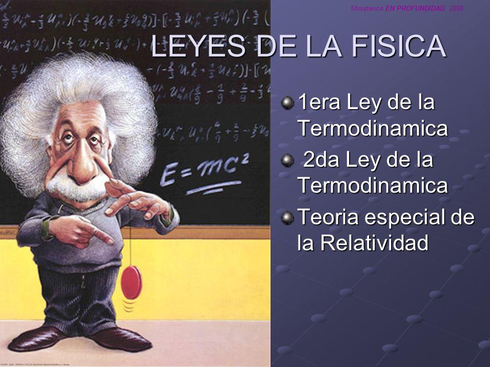 LEYES DE LA FISICA 1era Ley de la Termodinamica