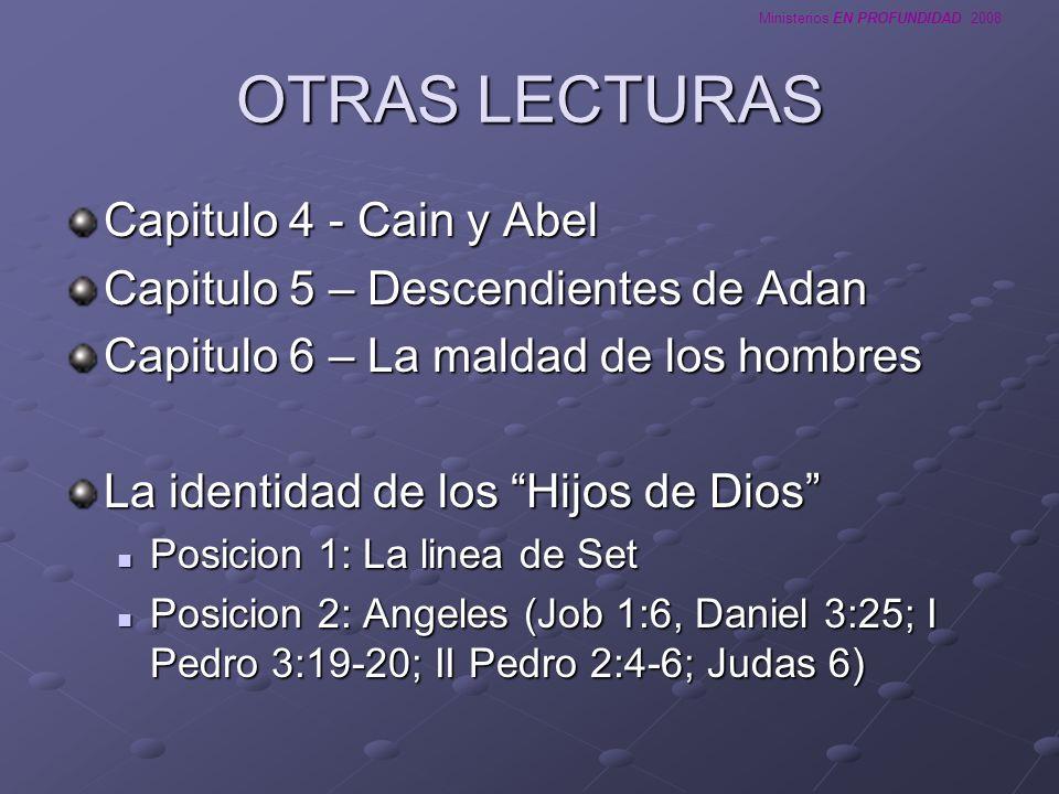 OTRAS LECTURAS Capitulo 4 - Cain y Abel