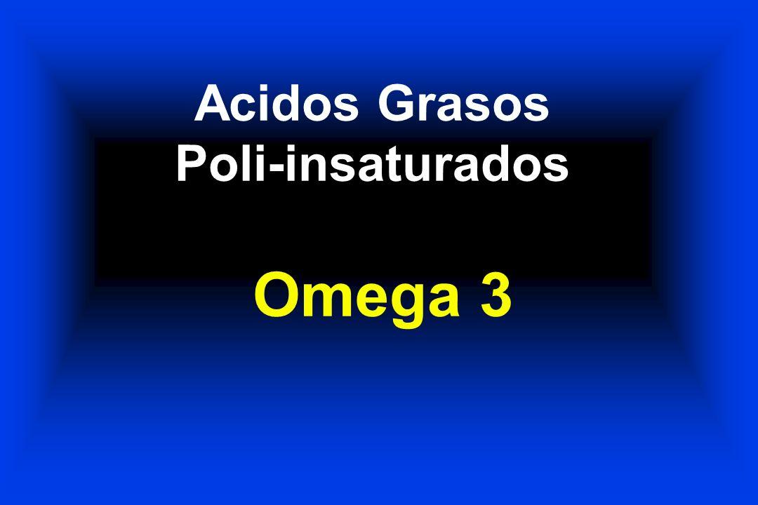 Acidos Grasos Poli-insaturados