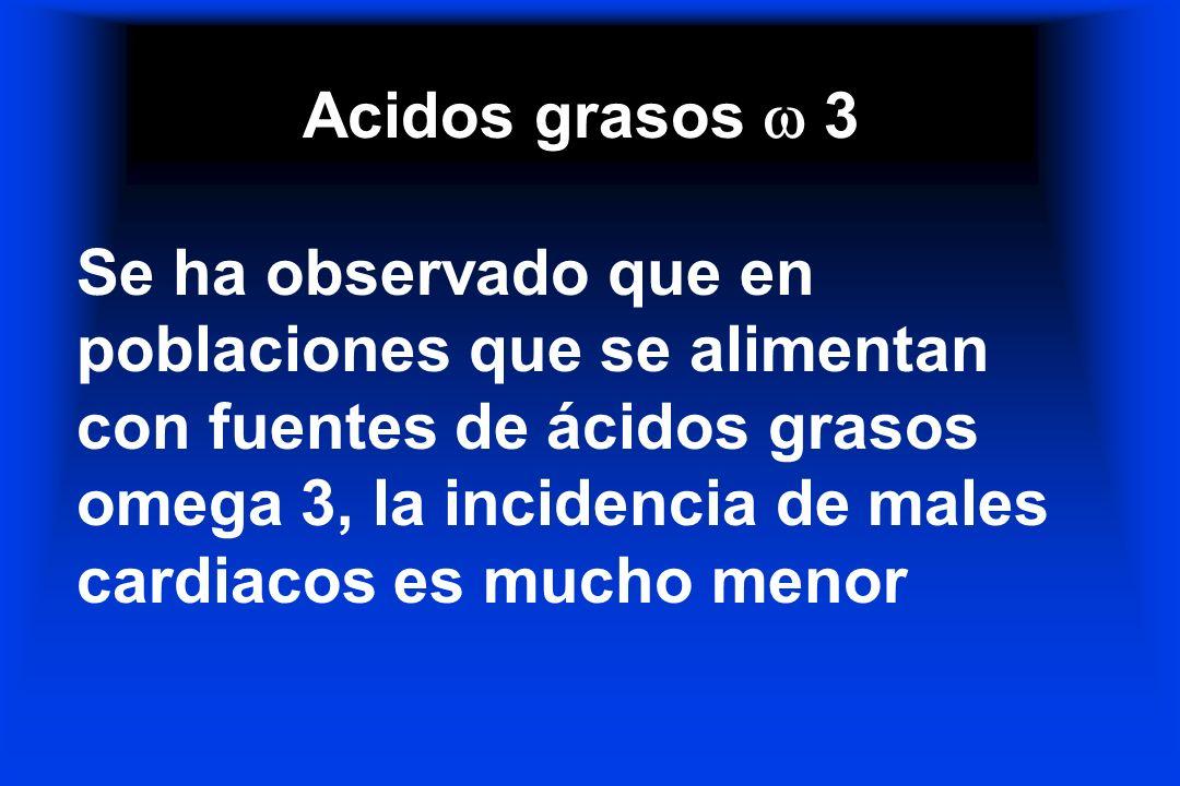 Acidos grasos  3