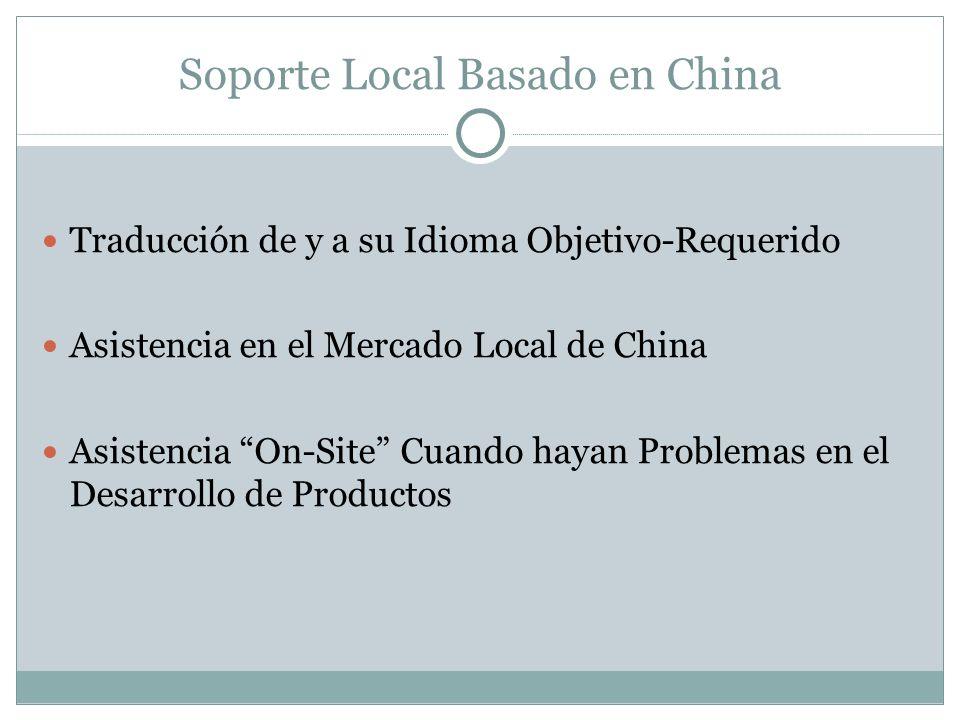 Soporte Local Basado en China