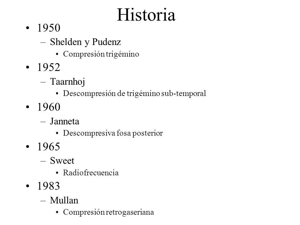 Historia 1950 1952 1960 1965 1983 Shelden y Pudenz Taarnhoj Janneta