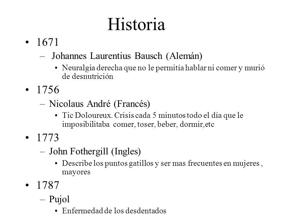 Historia 1671 1756 1773 1787 Johannes Laurentius Bausch (Alemán)