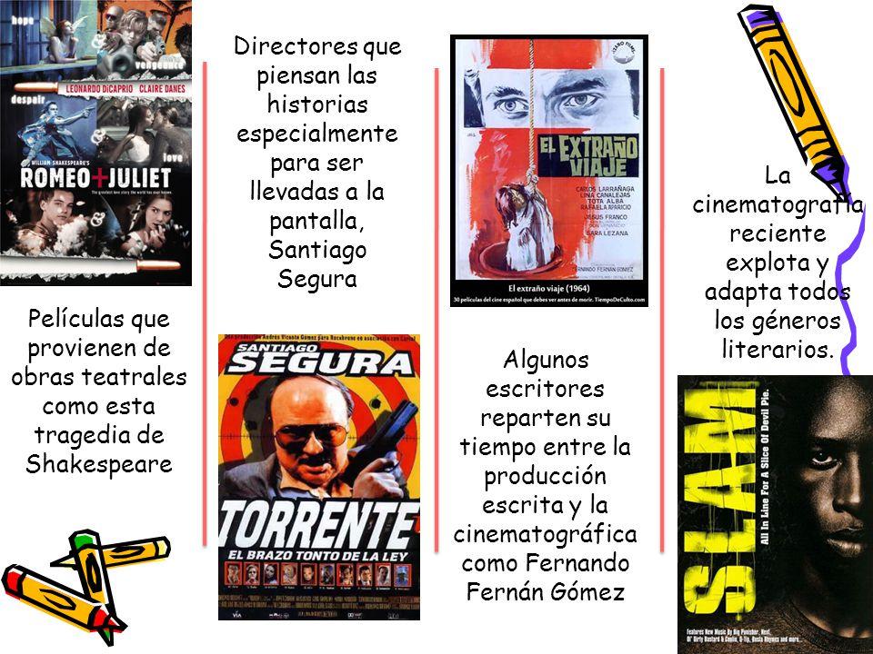 Directores que piensan las historias especialmente para ser llevadas a la pantalla, Santiago Segura