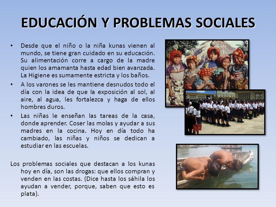 EDUCACIÓN Y PROBLEMAS SOCIALES