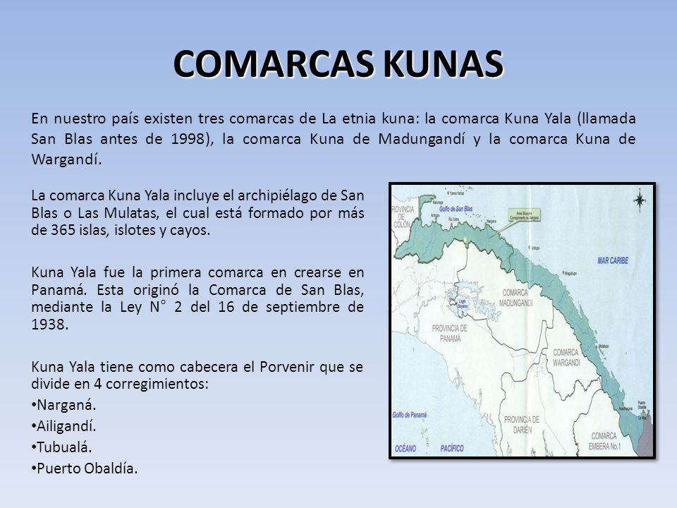 COMARCAS KUNAS