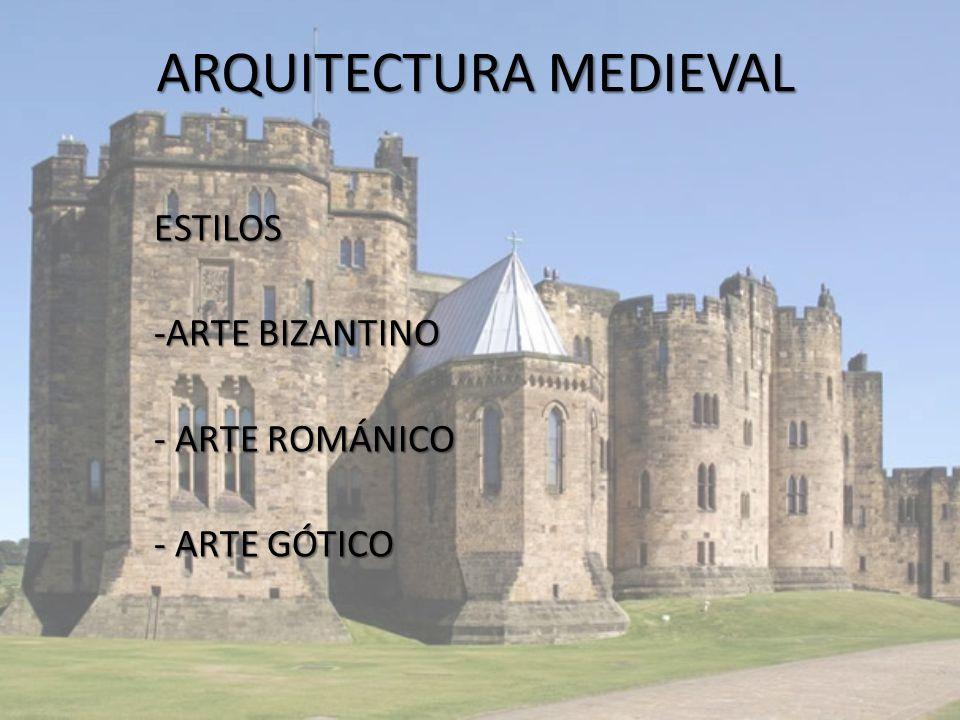 Arquitectura medieval ppt descargar for Arquitectura medieval