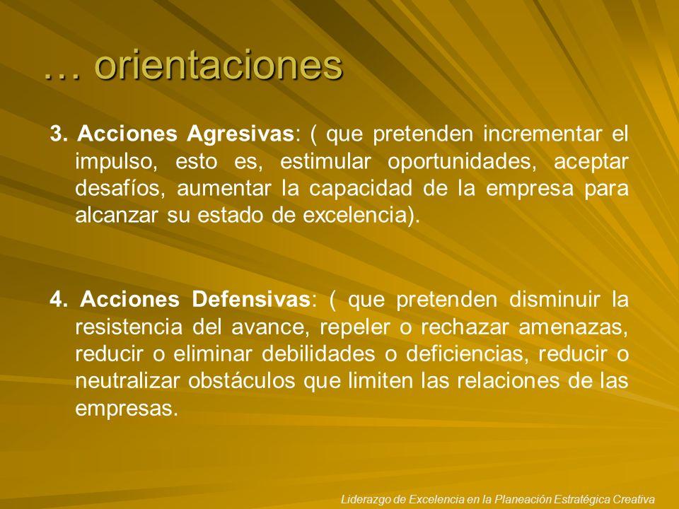 … orientaciones