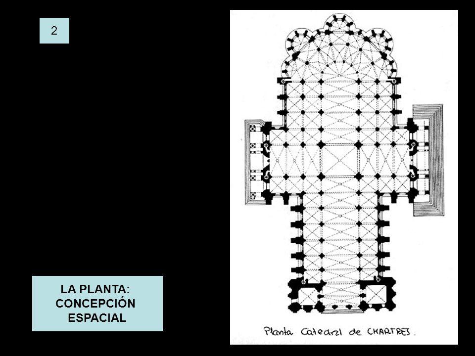 2 LA PLANTA: CONCEPCIÓN ESPACIAL