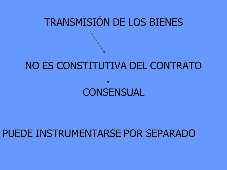 TRANSMISIÓN DE LOS BIENES