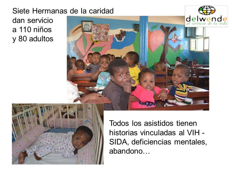 Siete Hermanas de la caridad dan servicio a 110 niños y 80 adultos