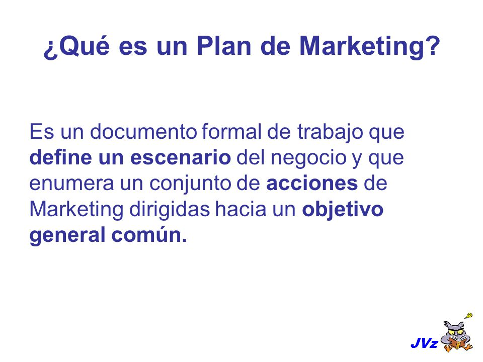 ¿Qué es un Plan de Marketing