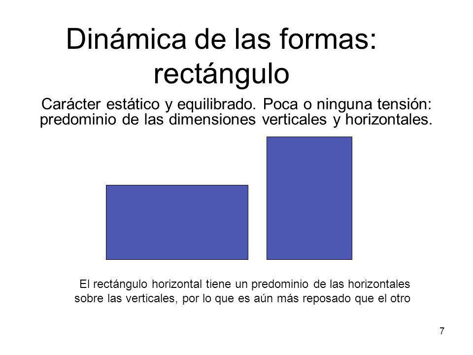 Dinámica de las formas: rectángulo