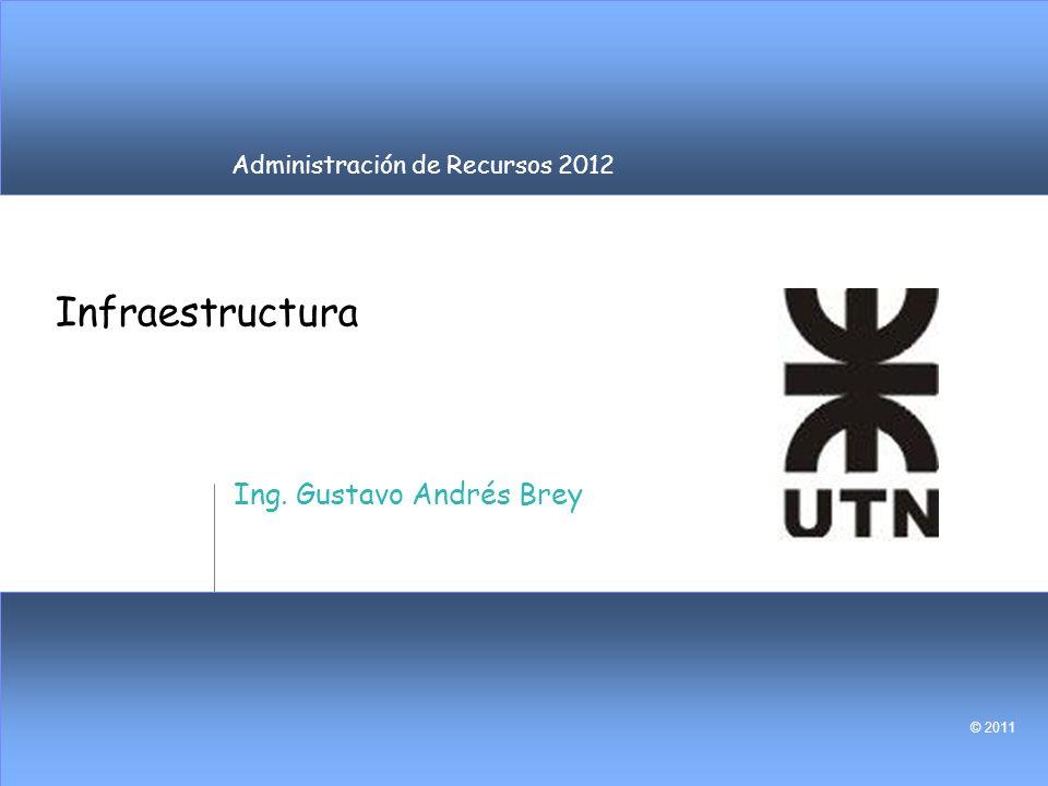 Infraestructura Ing. Gustavo Andrés Brey