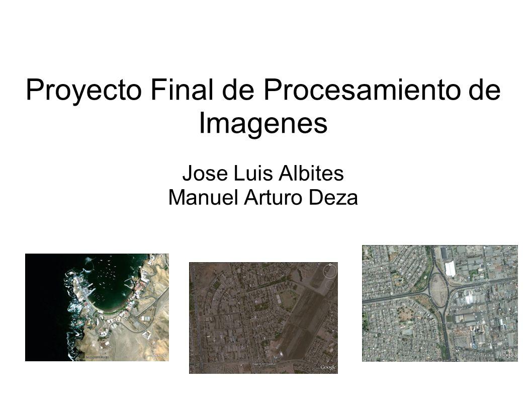 Proyecto Final de Procesamiento de Imagenes