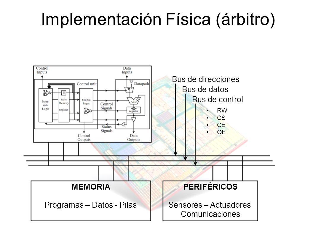 Implementación Física (árbitro)