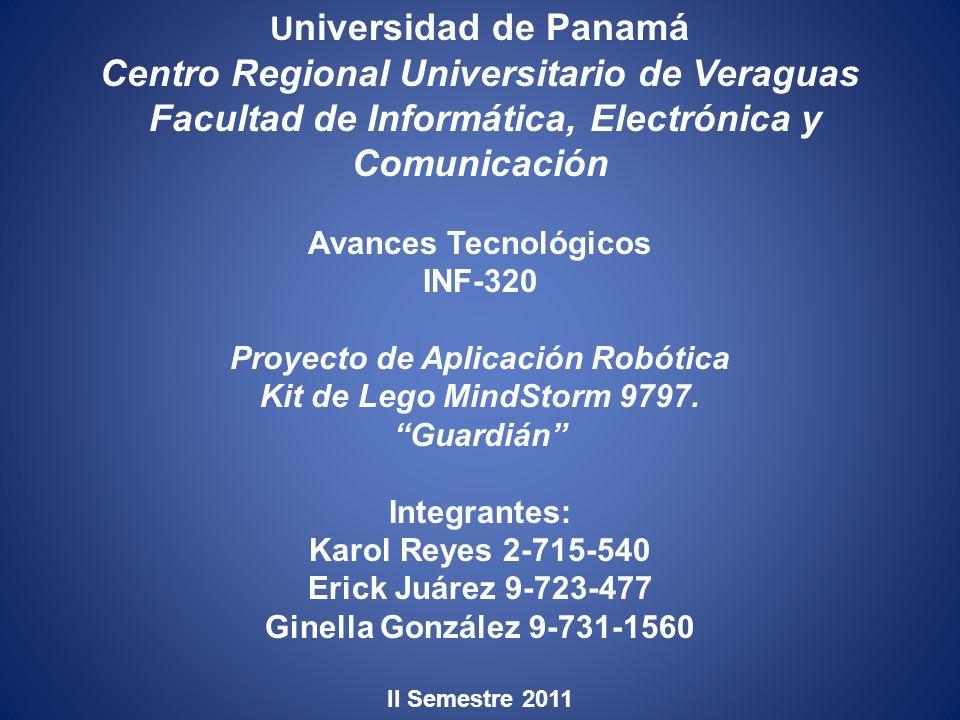 Avances Tecnológicos INF-320 Proyecto de Aplicación Robótica