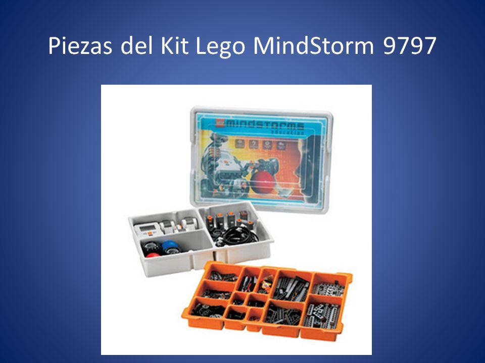 Piezas del Kit Lego MindStorm 9797