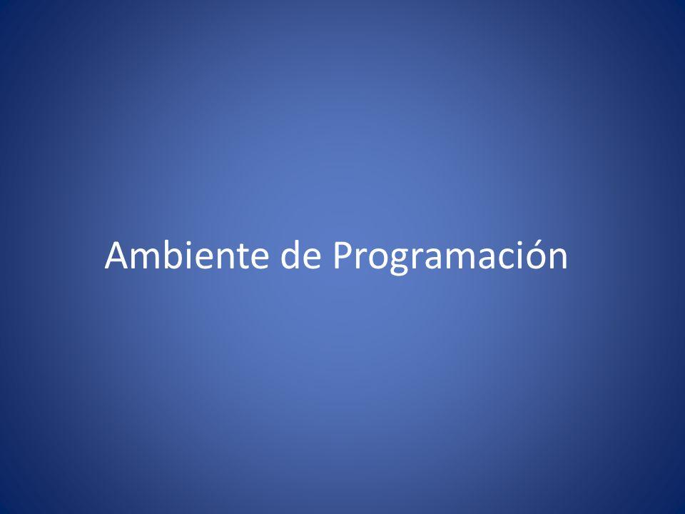 Ambiente de Programación